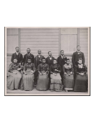 Princess Anne Academy 1890 class