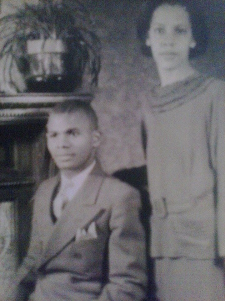 Catherine and Houston Lewis (of Lutherville Helen Chapman's parents)