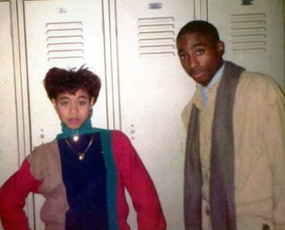 Jada Pinkett-Smith and Tupac Shakur