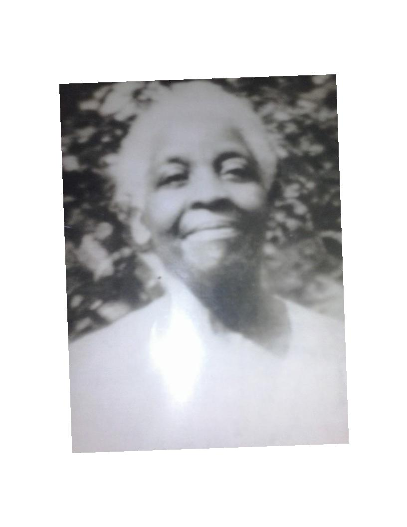 Susie L. Brown (Ms. Grandma) 1874-1961