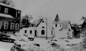 Mt Calvary AME Towson before it was rebuilt